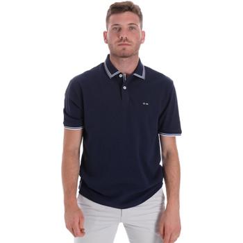Abbigliamento Uomo Polo maniche corte Les Copains 9U9020 Blu