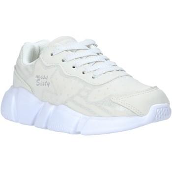 Scarpe Unisex bambino Sneakers basse Miss Sixty S20-SMS737 Bianco