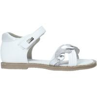 Scarpe Bambina Sandali Miss Sixty S20-SMS752 Bianco