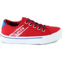 Scarpe Unisex bambino Sneakers basse Levi's VKIN0001T Rosso