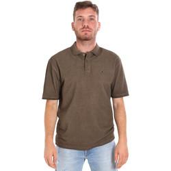 Abbigliamento Uomo Polo maniche corte Les Copains 9U9016 Marrone