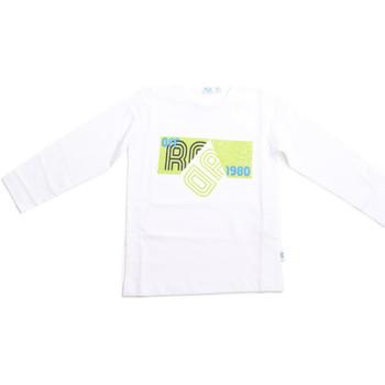 Abbigliamento Unisex bambino T-shirts a maniche lunghe Melby 70C5524 Bianco