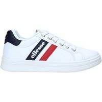 Scarpe Unisex bambino Sneakers basse Ellesse ES0017S Bianco