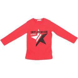 Abbigliamento Unisex bambino T-shirts a maniche lunghe Melby 70C5615 Rosso