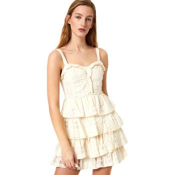 Abbigliamento Donna Abiti corti Liu Jo FA0312 T4190 Bianco