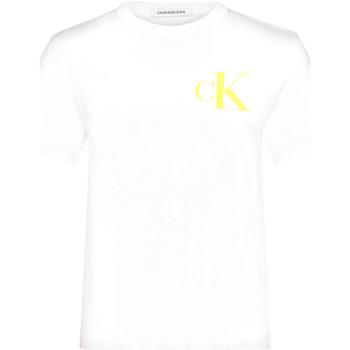 Abbigliamento Donna T-shirt maniche corte Calvin Klein Jeans J20J213562 Bianco