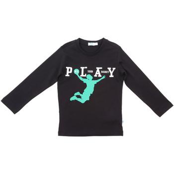 Abbigliamento Unisex bambino T-shirts a maniche lunghe Melby 70C5524 Nero