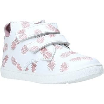 Scarpe Bambina Sneakers alte Melania ME0958A0S.B Bianco