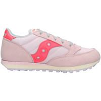 Scarpe Unisex bambino Sneakers basse Saucony SK162482 Rosa
