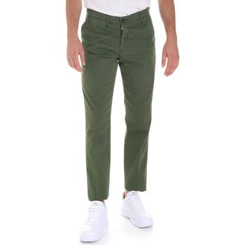 Abbigliamento Uomo Chino Les Copains 9U3320 Verde