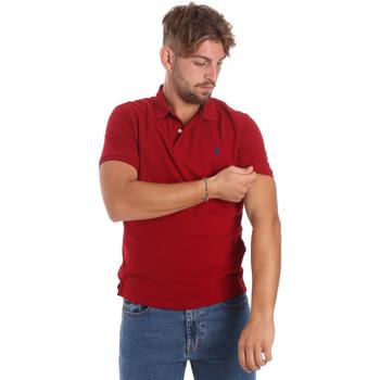 Abbigliamento Uomo Polo maniche corte U.S Polo Assn. 55957 41029 Rosso