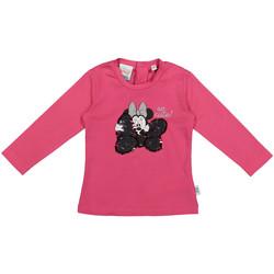 Abbigliamento Unisex bambino T-shirts a maniche lunghe Melby 20C2101DN Rosa
