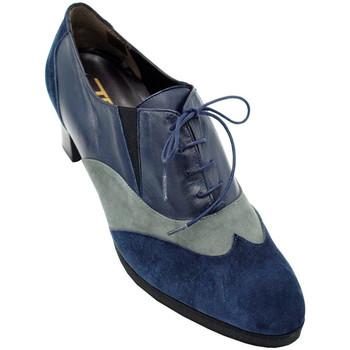 Scarpe Donna Derby Angela Calzature ANSANGC81XLblu blu