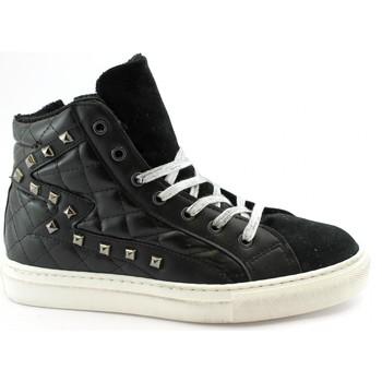 Scarpe Donna Sneakers alte Divine Follie DIV-I20-A102M-NE Nero