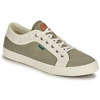 Scarpe Uomo Sneakers basse Kickers ARVEIL Kaki / Bianco