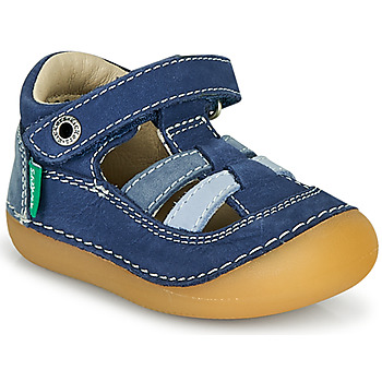 Scarpe Bambino Sandali Kickers SUSHY Blu