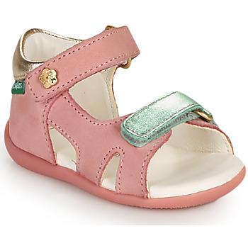 Scarpe Bambina Sandali Kickers BINSIA-2 Rosa