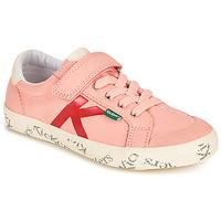 Scarpe Bambina Sneakers basse Kickers GODY Rosa