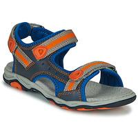 Scarpe Bambino Sandali Kickers KIWI Blu / Arancio