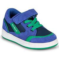 Scarpe Bambino Sneakers basse Kickers BISCKUIT Blu