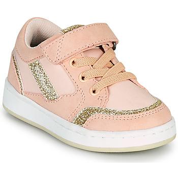 Scarpe Bambina Sneakers basse Kickers BISCKUIT Rosa