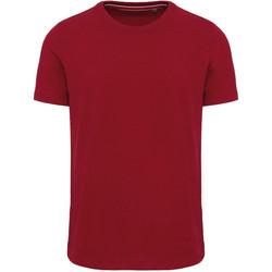 Abbigliamento Uomo T-shirt maniche corte Kariban Vintage KV2106 Rosso
