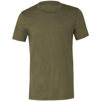 Abbigliamento T-shirt maniche corte Bella + Canvas CV3001 Verde