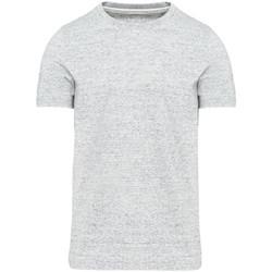 Abbigliamento Uomo T-shirt maniche corte Kariban Vintage KV2106 Grigio