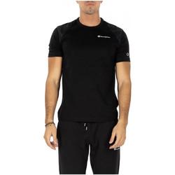 Abbigliamento Uomo T-shirt maniche corte Champion CREWNECK T-SHIRT kk001-nbk-nbk