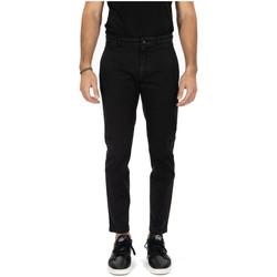 Abbigliamento Uomo Chino Department Five PANTALONE PRINCE nero