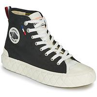 Scarpe Sneakers alte Palladium PALLA ACE CVS MID Nero / Bianco