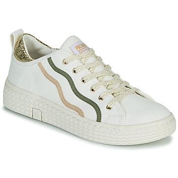 Scarpe Donna Sneakers basse Palladium Manufacture TEMPO 02 CVSG Bianco