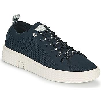 Scarpe Donna Sneakers basse Palladium Manufacture TEMPO 06 KNIT Marine
