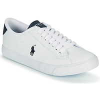 Scarpe Unisex bambino Sneakers basse Polo Ralph Lauren THERON IV Bianco / Marine