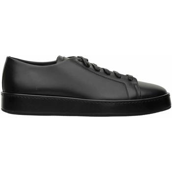 Scarpe Uomo Sneakers basse Santoni SNEAKER NERE Nero