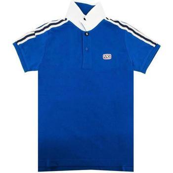 Abbigliamento Bambina T-shirt & Polo Sun68 ROYAL Blu