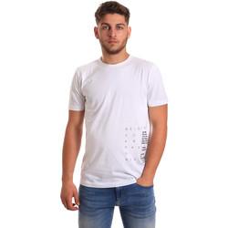 Abbigliamento Uomo T-shirt maniche corte Antony Morato MMKS01223 FA100144 Bianco