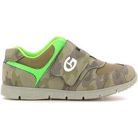 Scarpe Unisex bambino Sneakers basse Grunland PP0157 Verde