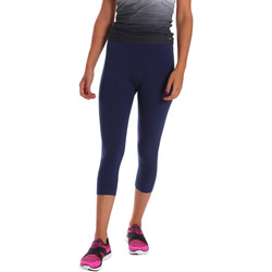 Abbigliamento Donna Leggings Key Up 5LI23 0001 Blu
