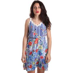 Abbigliamento Donna Abiti corti Fracomina FR19SP563 Blu