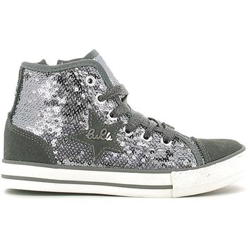 Scarpe Unisex bambino Sneakers alte Lulu LV010070T Grigio