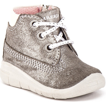 Scarpe Unisex bambino Sneakers alte Lumberjack KG48301 001 A11 Grigio
