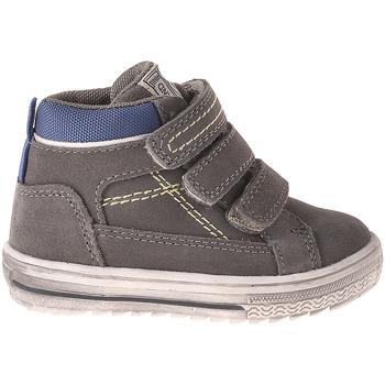 Scarpe Unisex bambino Sneakers alte Grunland PP0353 Grigio
