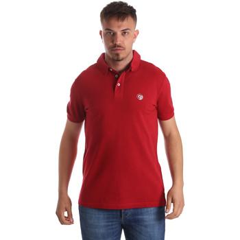Abbigliamento Uomo Polo maniche corte Gaudi 911BU64063 Rosso