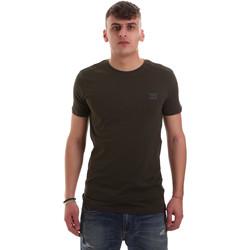 Abbigliamento Uomo T-shirt maniche corte Antony Morato MMKS01417 FA120001 Verde