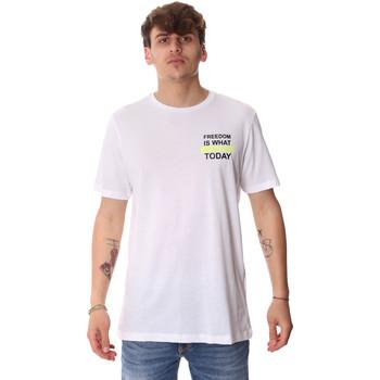 Abbigliamento Uomo T-shirt maniche corte Antony Morato MMKS01786 FA100189 Bianco