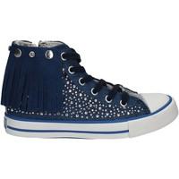 Scarpe Unisex bambino Sneakers alte Lulu LV010074T Blu