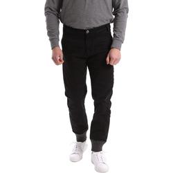 Abbigliamento Uomo Chino Gaudi 62BU20001 Nero