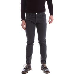 Abbigliamento Uomo Pantaloni 5 tasche Sei3sei 02396 Grigio