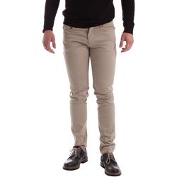 Abbigliamento Uomo Pantaloni 5 tasche Sei3sei 02396 Beige